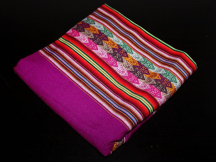 Látky/ubrusy/přehozy | Látka (fialová) | LATAMER - Látky a šperky z Latinské Ameriky