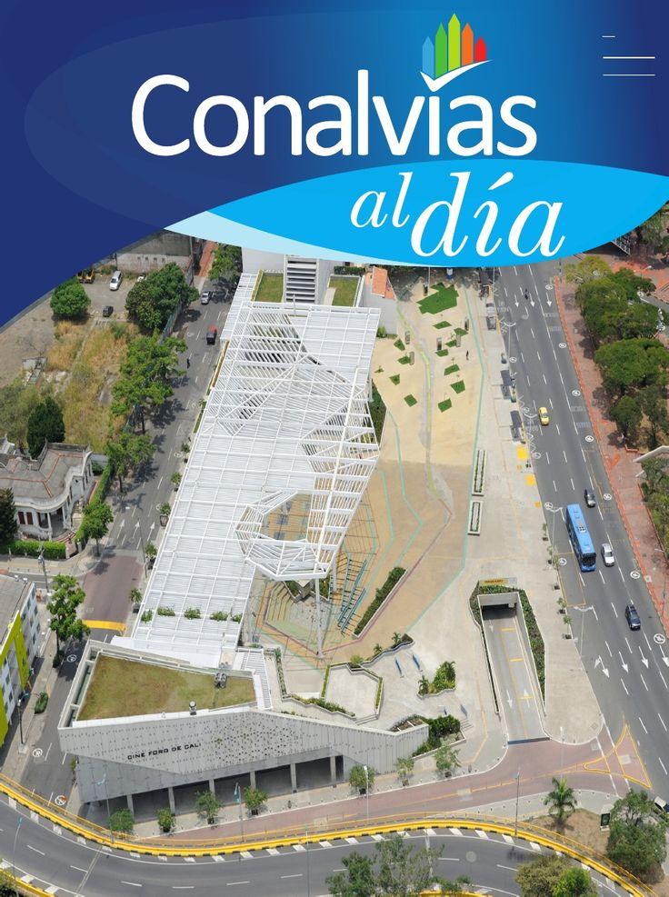 Revista Conalvias al día No 32 de 2014.    Andres Jaramillo Lopez Presidente de Conalvias