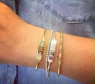 Loving our new Engravable Bracelets!  www.stelladot.com/lisalindau