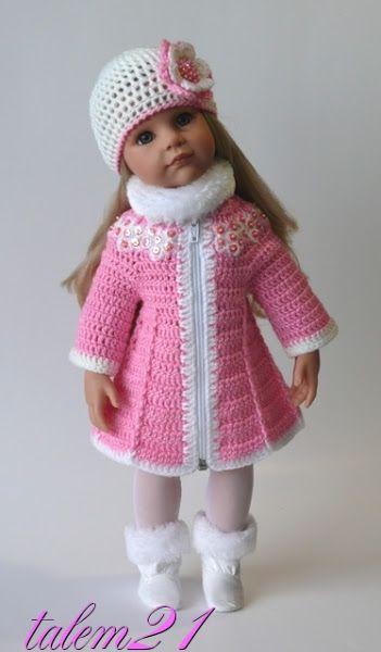 Doll Clothes / Crochet                                                                                                                                                      Mais