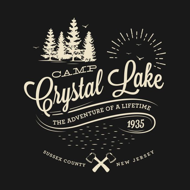 Friday The 13th Camping for Beginners Camp Crystal Lake T-Shirt
