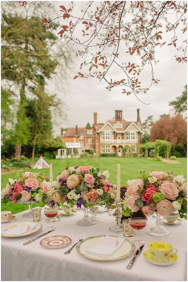 Spring Garden | Easter Styled Wedding Shoot: Pink & Gold