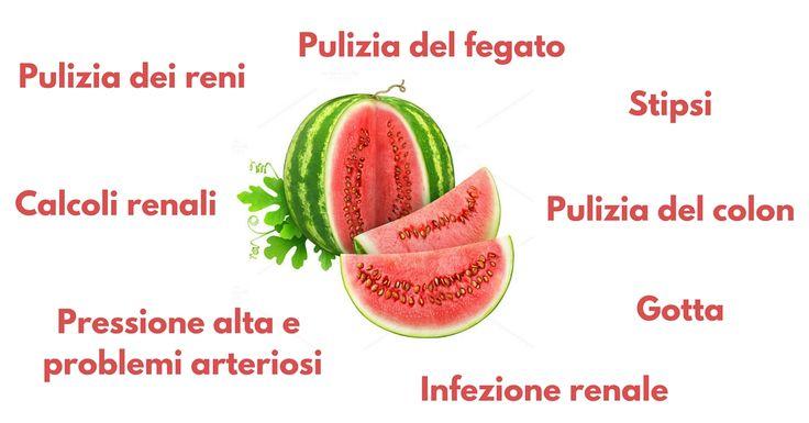 L'anguria è il frutto estivo per eccellenza, ma accanto al delizioso gusto dolce che tutti conosciamo, contiene anche proprietà medicinali: riduzione della pressione sanguigna, il trattamento di edemi e funghi della pelle e tanto altro ancora.