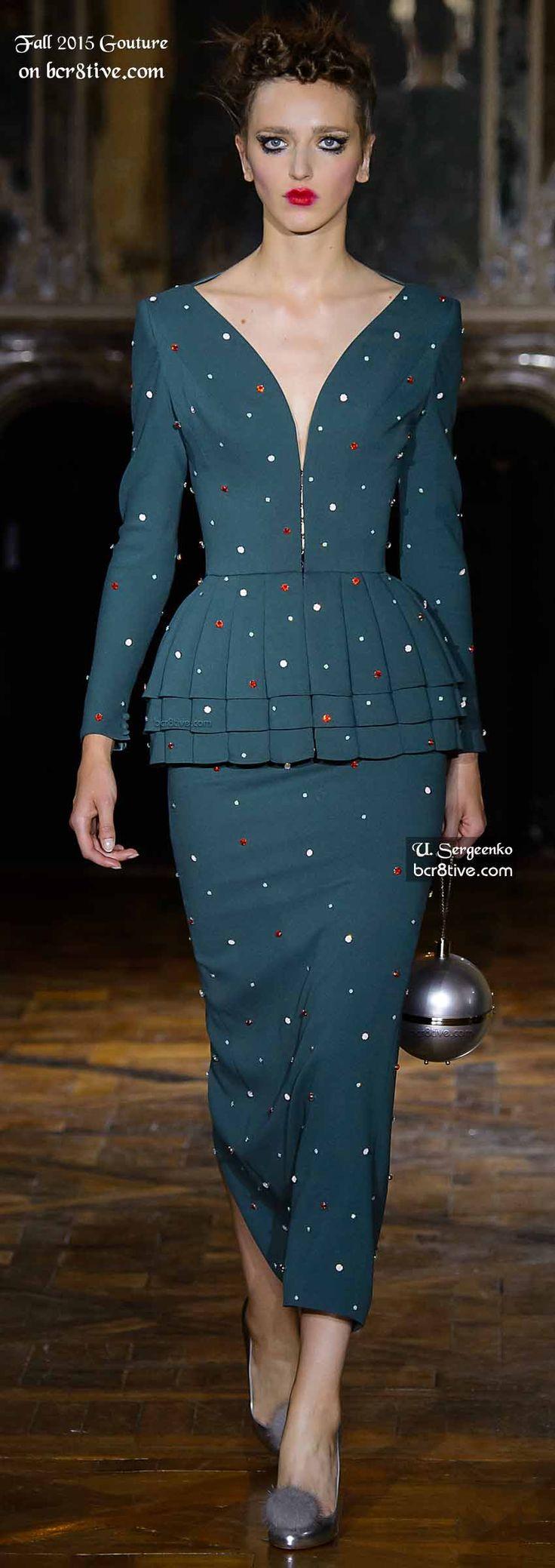 Ulyana Sergeenko Couture Fall 2015-16