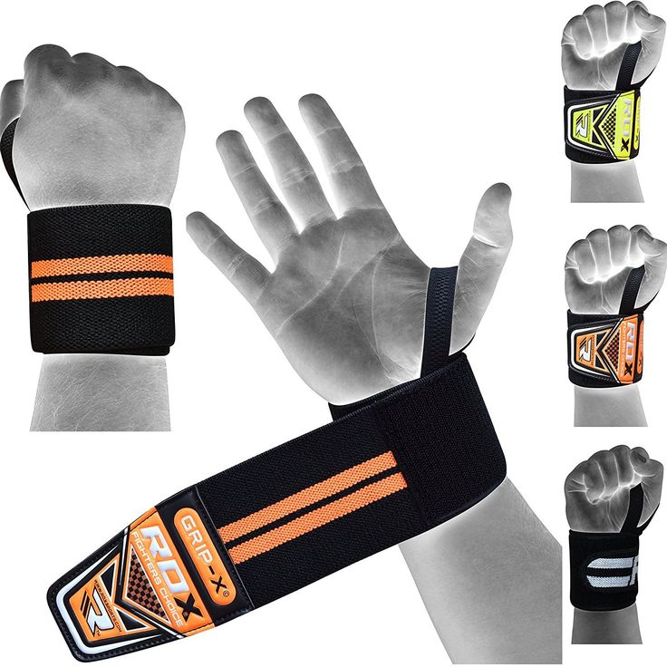 """RDX Weight Lifting Wrist Wraps Gym Straps Crossfit Bands Bodybuilding Power Training Workout Exercise. Authentic RDX Pair of Advanced Weight Lifting Pro Series Straps. Heavy duty 3"""" wide and 17"""" extended length, One size fit all. Constructed from a heavy blend cotton-eglantine for maximum support. Thumb loops with extra length Velcro to ensure they never shift. You'll be amazed at the extra weights attained, Sold as Pair."""