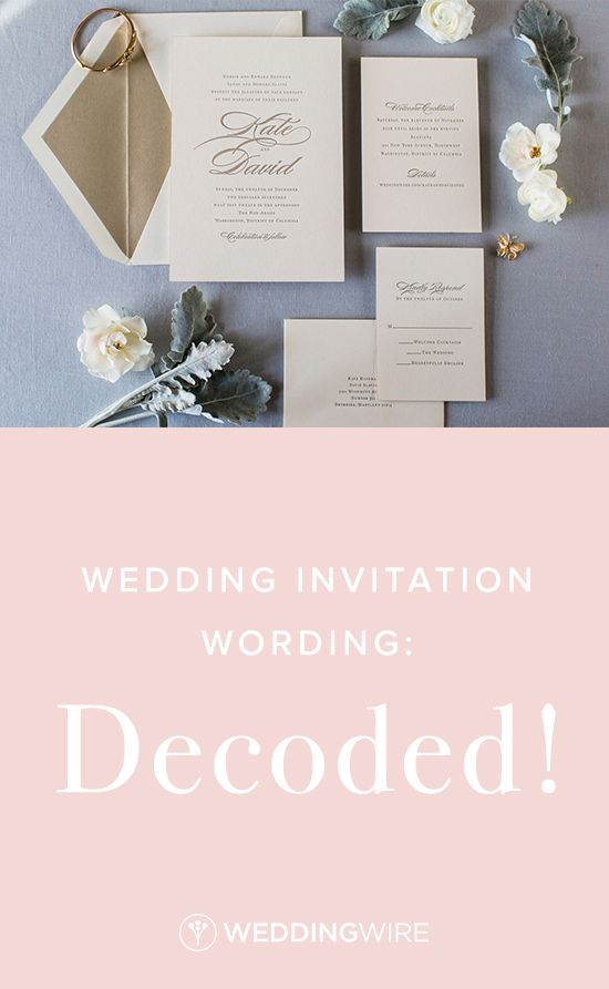 invitation wording for networking event%0A Wedding Invitation Wording  Decoded