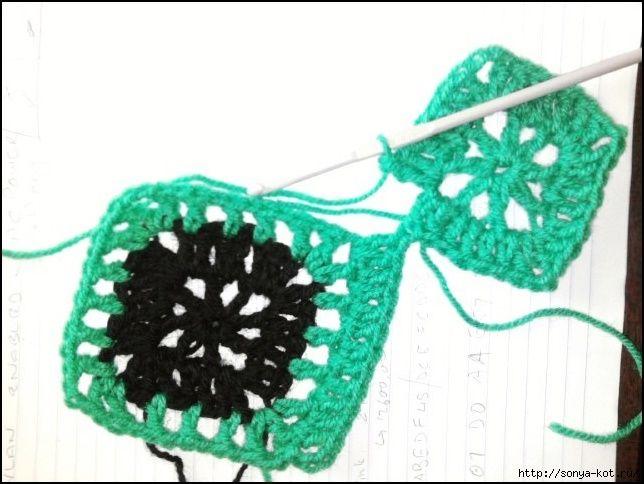 58 best Patrones images on Pinterest | Handtücher, Crochet afghans ...