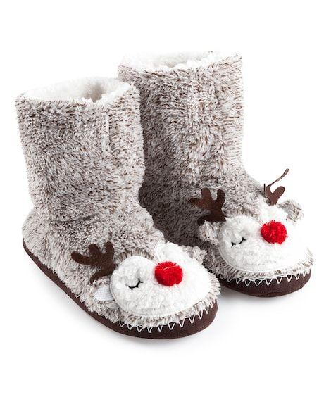 Reindeer Slippers - Slippers - Nightwear