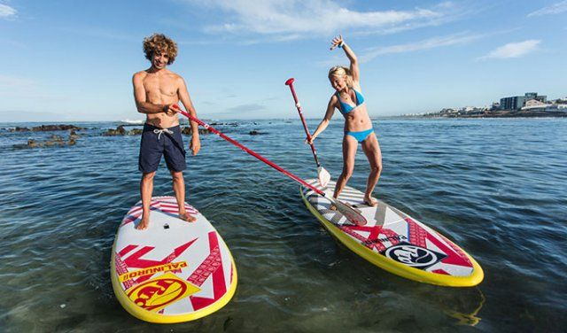 Stand Up Paddle (SUP) Boarding Lessons with High Five in Cape Town