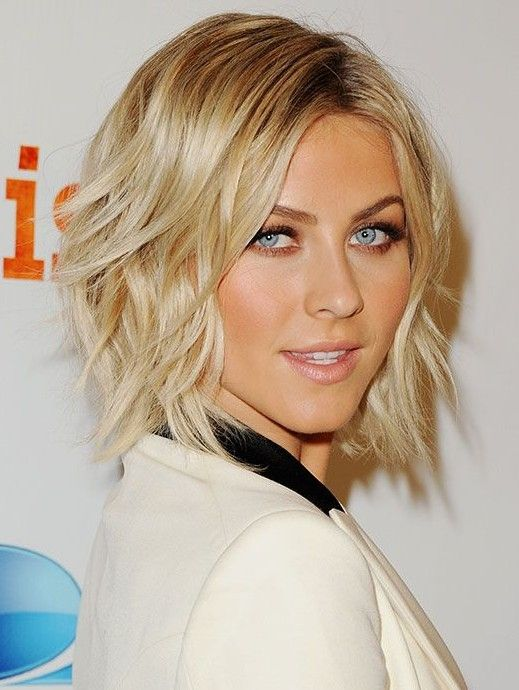 Trendy Short Layered Hairstyles: Neck Length Haircut