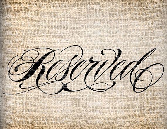 Antico parola riservata abbastanza ornato di AntiqueGraphique