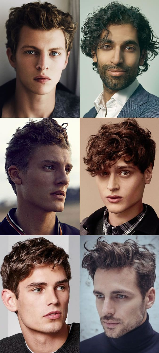 Men's Naturally Wavy and Curly Hairstyles/Haircuts Trends For 2015