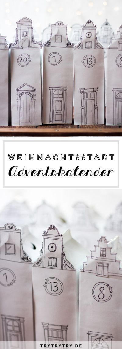 Weihnachtsstadt - Adventskalender & Freebies!