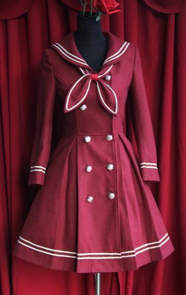 Sailor Lolita/Classic Lolits Coat || Infanta