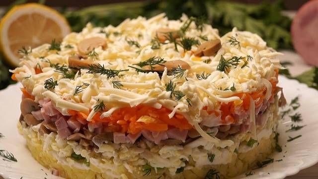 салаты любые вкусные рецепты
