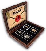 Sada historických mincí Samuraj v nabídce Národní Pokldnice