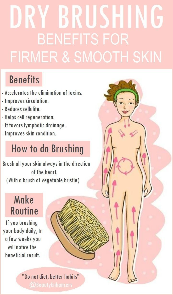Dry Brushing Benefits for Firmer & Smooth Skin