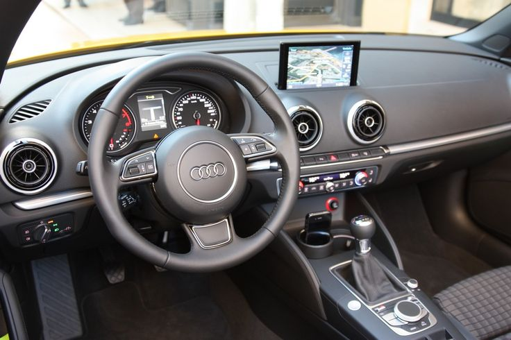 Interior Audi A3 Cabriolet 2014 Autos