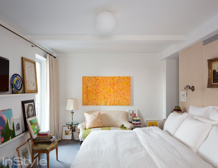 Peek Inside Isaac Mizrahi's 4,000-Square-Foot N.Y.C. Apartment - THE MASTER BEDROOM - from InStyle.com