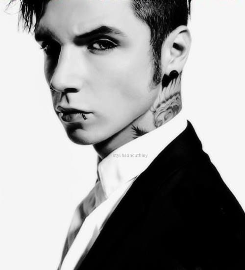 Anyone who says Andy looks like a girl better eat their words.
