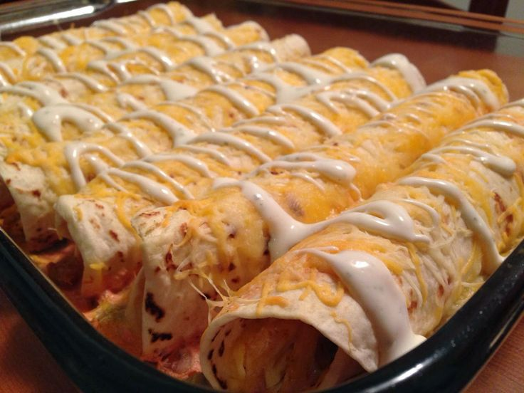Ranch Chicken Enchilada Recipe