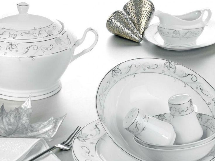 YASEMİN Yasemin - 85 Parça Yemek Takımları #porselen