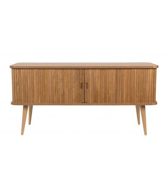 Buffet bas Barbier sur MonDesign.com, très élégant avec son style épuré et scandinave en frêne #wood #buffet #sideboard #zuiver #design #bois #commode #elegant #furniture #meuble #designfurniture