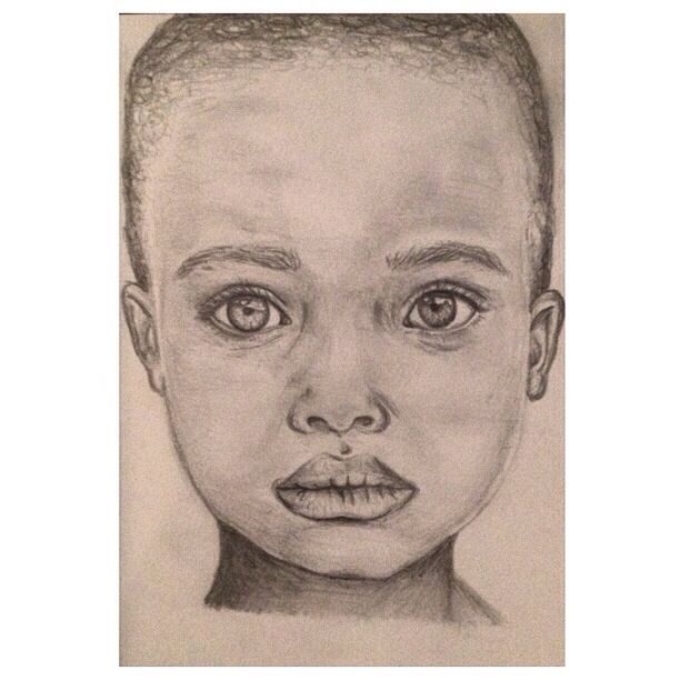 Another pencil portrait drawing