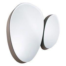 Zeiss Mirror  Contemporary, MidCentury  Modern, Transitional, Mirror, Wood, Crystal, Mirror by GallottiRadice