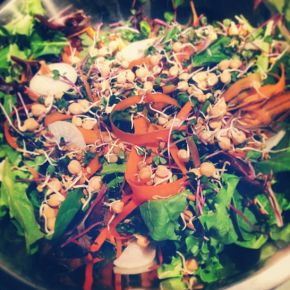 sweet health nut | natural :: wellness :: balanced  Dragon Bowl Salad | Aux Vivres