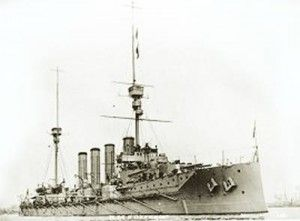 British Armoured Cruiser HMS Defence lost at the Battle of Jutland 31st May 1916