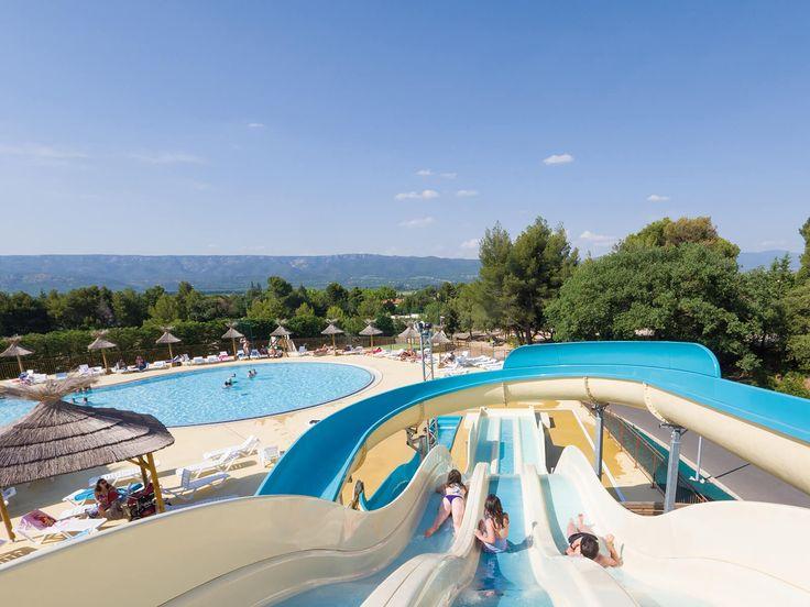 Yelloh! Village le Luberon Parc - Profitez de nombreuses possibilités pour vous refraîchir avec un grand parc aquatique au Luberon Parc, sous le soleil chaud de Provence ! Plus d'infos : http://www.yellohvillage.fr/camping/luberon_parc/espace_baignade