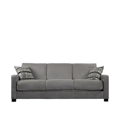 @Overstock - Allow your overnight guests to sleep comfortably with the incredibly innovative design of the Convert-a-Couch transitional microfiber futon sofa. This stylish sofa is unique in that, unlike a pull-out mattress, it transforms fully into a futon bed. http://www.overstock.com/Home-Garden/Trace-Convert-a-Couch-Sage-Green-Microfiber-Futon-Sofa-Sleeper/5542801/product.html?CID=214117 $470.99