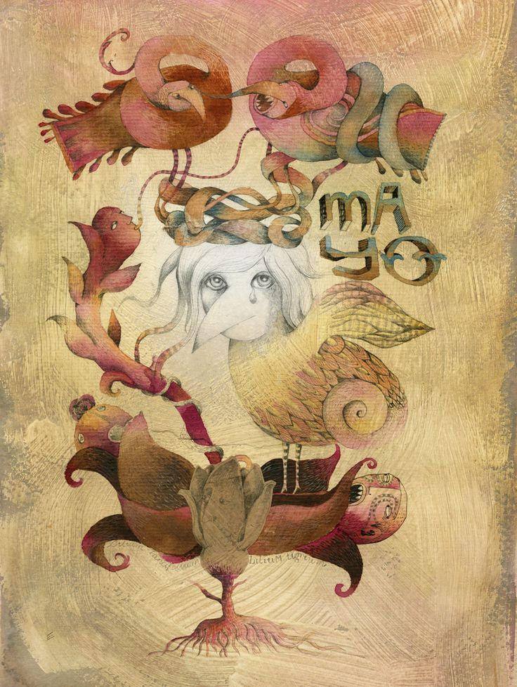 ART ILLUSTRATION AND COLLAGE