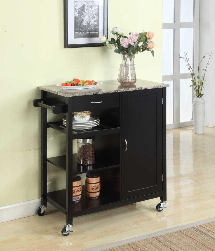 Kitchen Island Cart Black 32 best kitchen carts images on pinterest | kitchen carts, kitchen