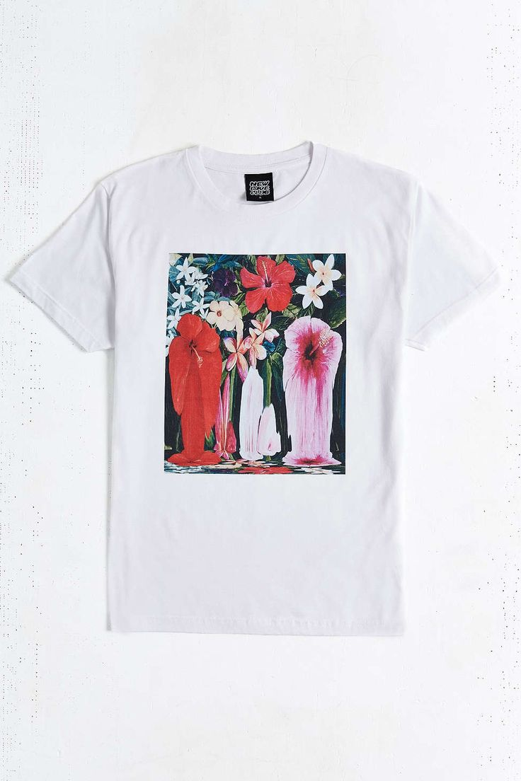 New Love Club Melting Florals Tee - Urban Outfitters