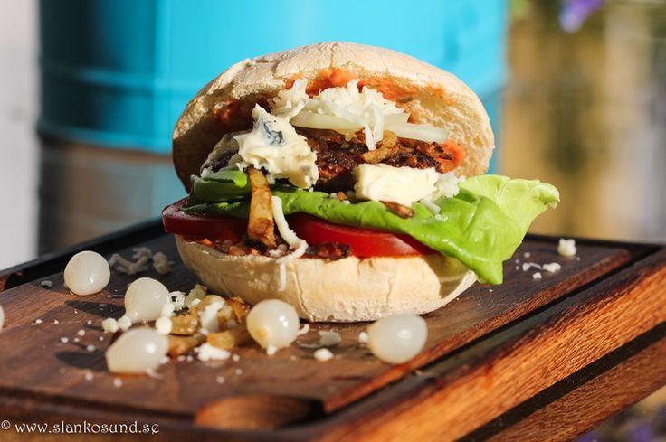 The JC Burger #thejcburger #JCBurger #burger #burgerrecipe #burgerrecipes #burgerrecette #burgerrecettes #hamburgare #hamburgarrecept #burgaren #slankosund #grillat #grilla #grillad #grillas #grill #grillrecept #bbqrecipe #bbqrecette