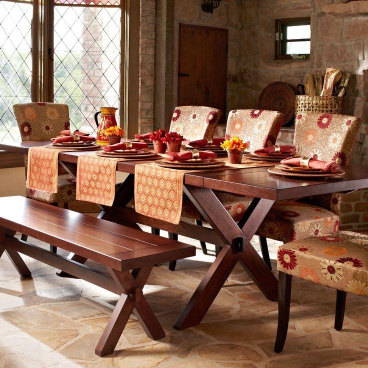 Nolan Extension Tuscan Brown Trestle Table | Trestle Table, Trestle Tables  And Tables