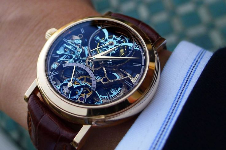 gentlementools: Vacheron Constantin tourbillon skeleton - what a masterpiece