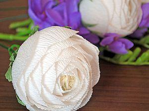Создаем ранункулюсы для букета из конфет - Ярмарка Мастеров - ручная работа, handmade