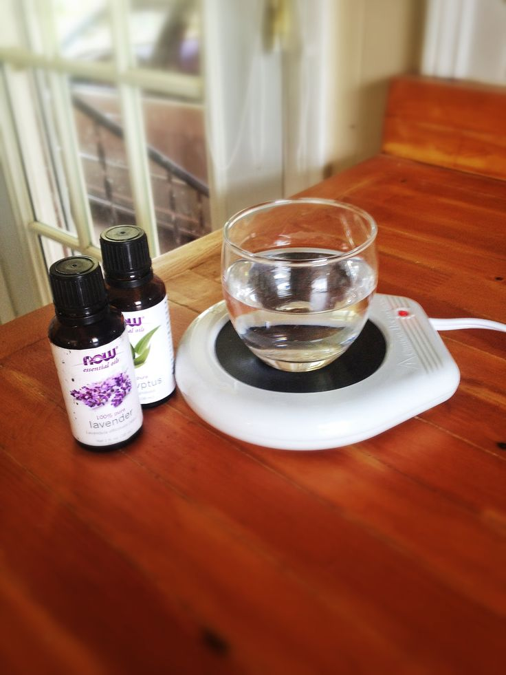 Enjoy coming home to your house smelling fresh... Buy a $5 candle warmer at Walmart and a $0.75 glass bowl. Then fill the bowl with water, add a few drops of your fave essential oil and VOILÀ!