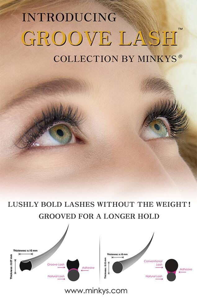 Minkys new GROOVE LASHES!