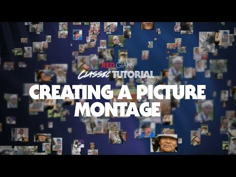 Classic Tutorial | Creating a 3D Picture Montage with Trapcode Particular - YouTube