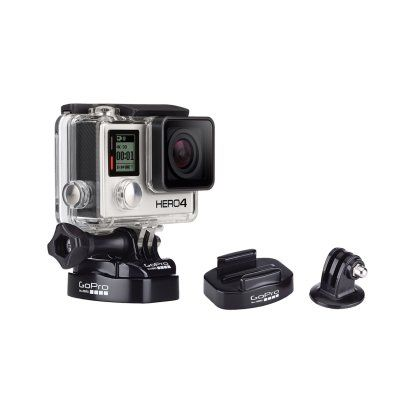 Adapt quickly to any shooting environment with these GoPro ABQRT001 tripod mounts. A standard, as well as a quick-release mount ensures convenient movement