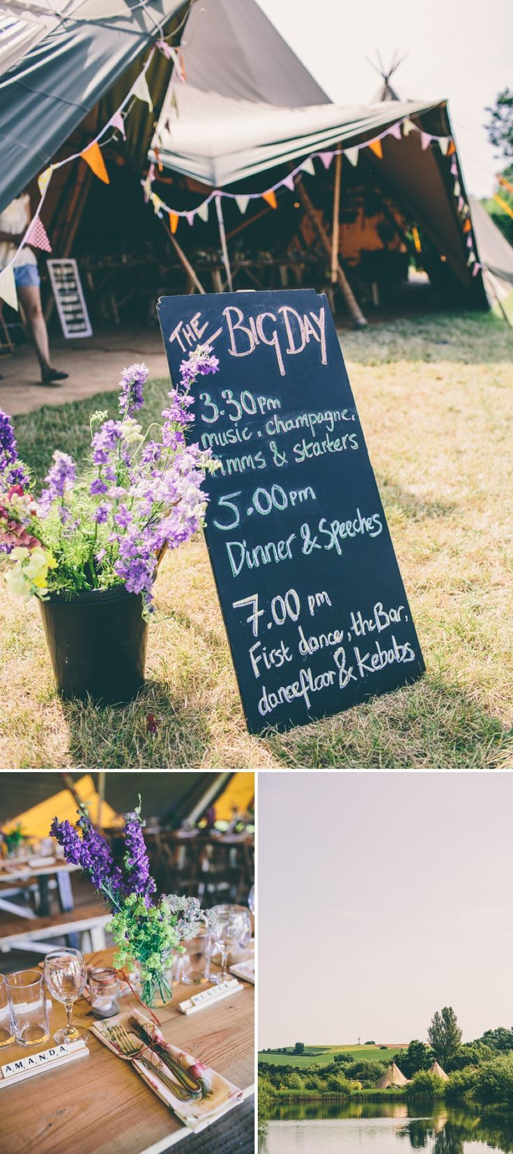 A Maid Marian Festival Inspired Wedding At Glebe Farm, Gunthorpe, UK. I love this wedding!