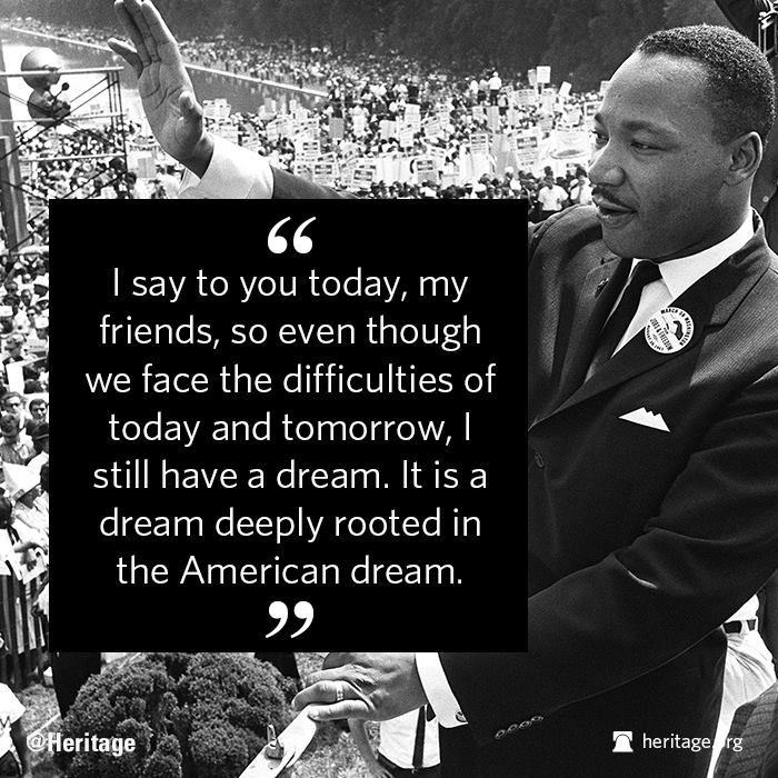 the dream of martin luther king for all america Watch video more than three decades have passed since martin luther king jr's birthday became a national holiday across america  and a dream: martin luther king.