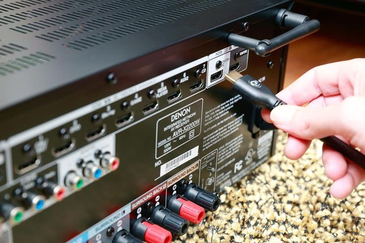 home theater receiver setup guide cable tvs and hdmi cables. Black Bedroom Furniture Sets. Home Design Ideas