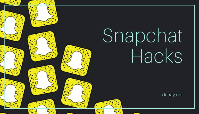 5 Super Easy Snapchat Hacks To Make You Awesome