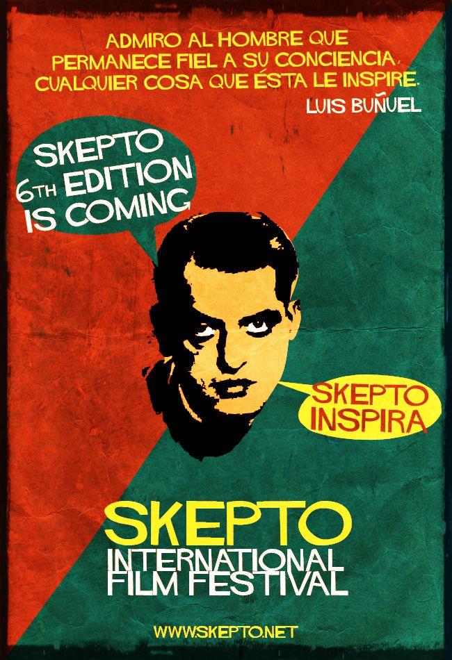 Skepto Retro Poster - Director's Quotes nº2 Luis Buñuel