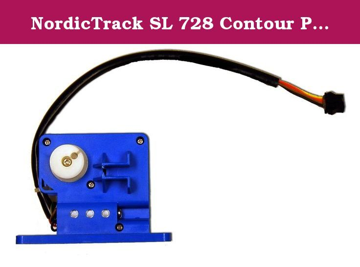 NordicTrack SL 728 Contour Plus Elliptical Resistance Motor Model Number 215231. This Is The Replacement Elliptical Resistance Motor For The NordicTrack SL 728 Contour Plus. For Model Number: 215231.